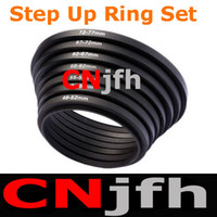 Wholesale 49 mm Step UP Rings Lens Adapter Filter Set DC Camera Lens Filter Adapter