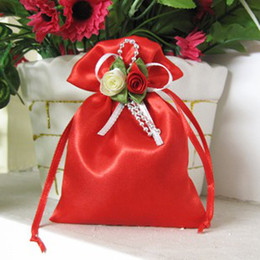 Wholesale Multicolor brocade candy bags gift bags jewelry bag candy hi egg bags goodie bags size S