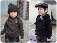 Wholesale 2012 autumn buckle side zipper boys and girls coats Children s jackets fashion_house