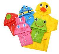 Wholesale Children boy and girl cute animal shapes raincoat fashion_house