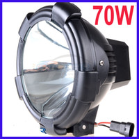 Wholesale PAIR quot W HID XENON DRIVING LIGHT HEAVY DUTY SUV ATV SPOT FLOODLIGHT TRUCK OFF ROAD V lm