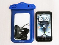 Wholesale High Quality Underwater Waterproof Bag Case For Digital Camera Cell Phone