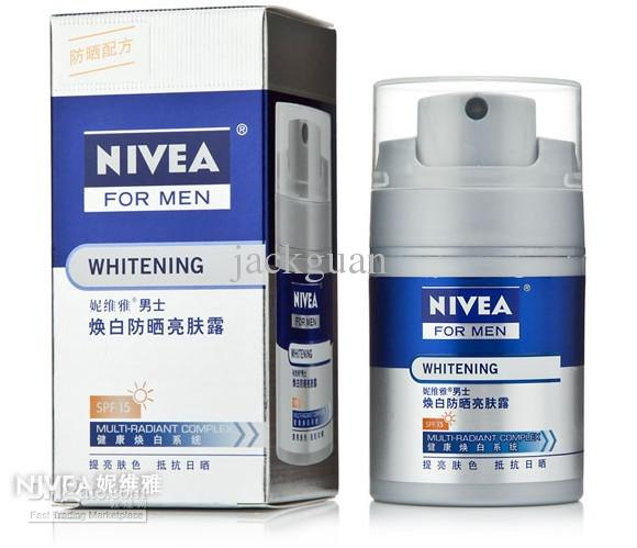 Nivea Mens Whitening Sunscreen Brightening Lotion 50g/Spf15 Whitening And Sunscreen Dilute Smallpox Uva Sun Protection Keep Your Skin Healthy From Jackguan, $95.58| Dhgate.Com