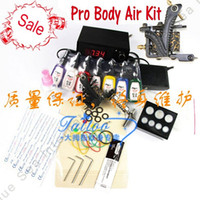 Wholesale Body Art Kit in Tatoo Machine With All Parts Make Tatoo By Yourself China Post Air
