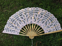 Wholesale 2014 New Style Lovely Bridal Fans Lace Decorations Matched With Wonderful Wedding Dress DHgate