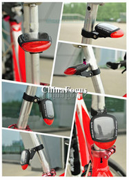 Wholesale Solar taillights Bicycle Parts Tail light Outdoor Sports Cycling equipment Accessories