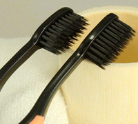 Wholesale retail drop shipping Korea nano bamboo Anion Charcoal health dual adult toothbrush high q