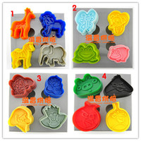 Wholesale High Quality Animal Shape Plunger Cutter Set Cookie Set Cake Mold Cake Decoration Bakeware