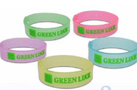 Wholesale Adjustable luminous insect repellent bracelet mosquito repellent strap Colors random
