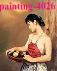 Wholesale Hand painted oil paintings frameless paintings beautiful women nude oil paintiing classical color