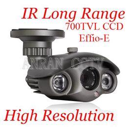Wholesale 700TVL EFFIO E CCD CCTV Long Range Array IR High Resolution Surveillance Security Camera With OSD
