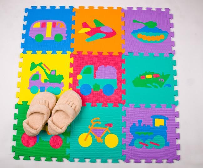 Jouets Cars Puzzle Enfants