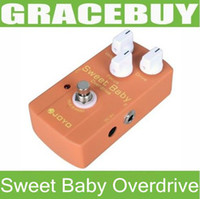 Wholesale JOYO JF Sweet Baby Low Gain Overdrive Distortion Guitar Effect Pedal Boost with Focus Knob Bypass