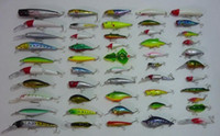 Wholesale Fishing Lure Reel Tackle MINNOW Crank MM G Hooks Suit Crank Fishing Lures lead fish CAN Mix order