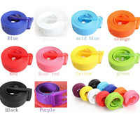 Wholesale New Silicone Vinyl Plastic Jelly Silicone Suit Casual Belt Buckle inch