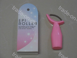 Wholesale Facial Epi Roller Epilator Hair Removal Device Remover Tweezer Stainless Steel Spring ABS Handle