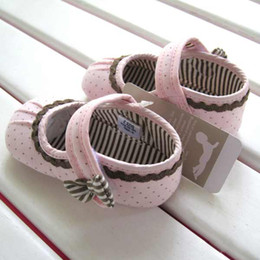 Wholesale girls Toddler Shoes M baby shoes new bron baby shoes antiskid shoes V1923
