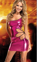 Wholesale 2012 Sexy Stage Wear Faux Leather crazy Clubwear Sexy Woman Lingerie Z3034 from Yangze