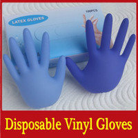 Wholesale 100PCS disposable latex vinyl gloves One time hairdressing medical examination glove