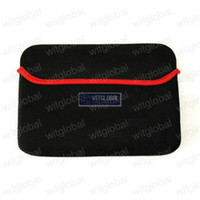 Wholesale 9 quot Ampe A90 Hyundai S900 Tablet Purple Neoprene Sleeve Case Pouch Bag