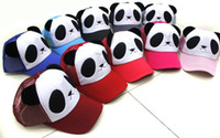Wholesale Panda Hat panda cap parent child cap sunbonnet hat female summer sun hats
