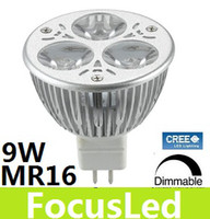 Wholesale 100 W X3W MR16 Dimmable Led Downlight Lamp High Bright LM Warm White Led Spot Light Bulb V