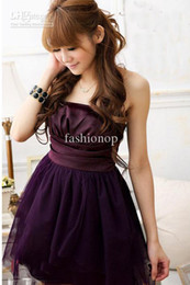 Wholesale 2012 New Korean Good Guality Sweet Net Yarn Dress Formal Attire Skirt Bridesmaid Dress YMS1