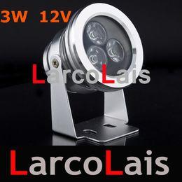 Outdoor Waterproof 3W Cool White LED Flood Light Lighting Lamp DC 12V High Power