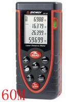 Wholesale The new laser rangefinder bubble level digital rangefinder measure the distance of meters Free