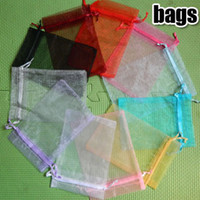 Wholesale Jewelry bags Organza Pouches travel satin drawstring X20CM very Large Gif Bag Jewel Case