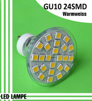 Wholesale NEW GU10 SMD LED Light LED Bulb Lamp w spotlight bulb lamp Warm White V