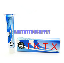 Wholesale TKTX numb g tattoo numbing cream anesthetic for tattoo body Piercing tubes