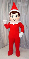 Wholesale christmas Fast custom new Elf on the Shelf Mascot Costumes halloween funny party dress