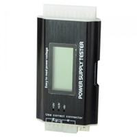 Wholesale New Pin SATA Portable LCD Screen Display Power Supply Tester for PC Computer ATX BTX ITX