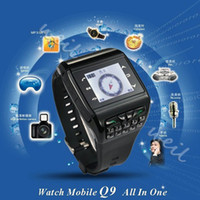 Wholesale Q9 Colourful Watch Mobile phone dual sim cards standby quad band WEIL
