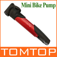 Wholesale Mini Portable Bike Tire Inflator Bicycle cycling Air Pump for French American British valve H8719R
