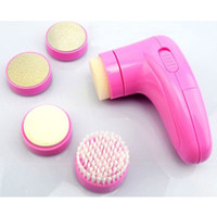 Wholesale 5 in Beauty Foot care cleaner Body Massage Multi function Electric
