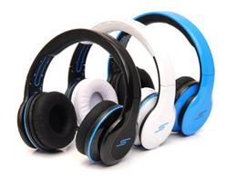 Rue sms via un casque d'oreille en Ligne-SMS Audio Street de 50 Cent casque Over-Ear filaire avec microphone HD DJ Headset