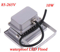 10W LED IP65 60pcs lot 10W High Power 85-265V LED Garden Landscape Flood Light LED street Lamp Free Shipping