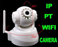 Wholesale Wireless IP Camera white Promotion Nightvision IR Webcam Web CCTV Camera WiFi ip cam