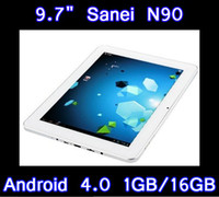 Wholesale 5PCS quot IPS Capacitive Touch Screen Tablet PC Sanei N90 Android Wifi P HDMI A10