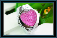 Wholesale The trend of heart shaped ring table fashion watch business table personalized non mainstream watch