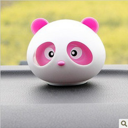 Wholesale Panda car perfume Cute Car perfume Car Air Freshener