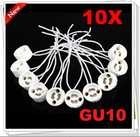Wholesale Brand New GU10 Socket Lamp Holder base Ceramic Wire Connector In Stock