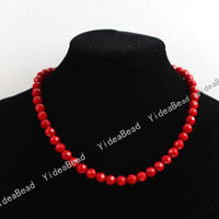 Wholesale 110 Coral Beads mm Carved Red Charms Gemstone Loose Beads in Stock Fit Bracelets DIY