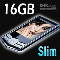 Wholesale MP4 Player Inch MP3 Players GB GB Slim LCD Screen Video Media Fm Radio B16 New