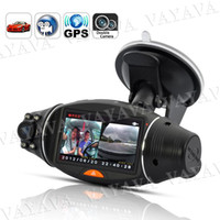 Wholesale 2 Inch Screen Dual Camera Car DVR with GPS Logger and GPS Sensor