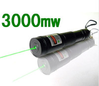 Wholesale New mw Laser Green Laser Pointers Green laser flashlight Lrradiation meters nm Adjustabl