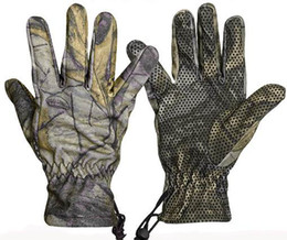 Wholesale Camo skidproof gloves Outdoor gloves For hunting Mountaining
