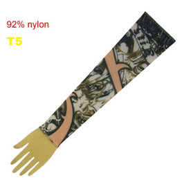 Wholesale Top Fancy Tattoo Stripe Sleeves Arm Dress Sleeve Great Tattoo Design For Men amp Women T5 ML001